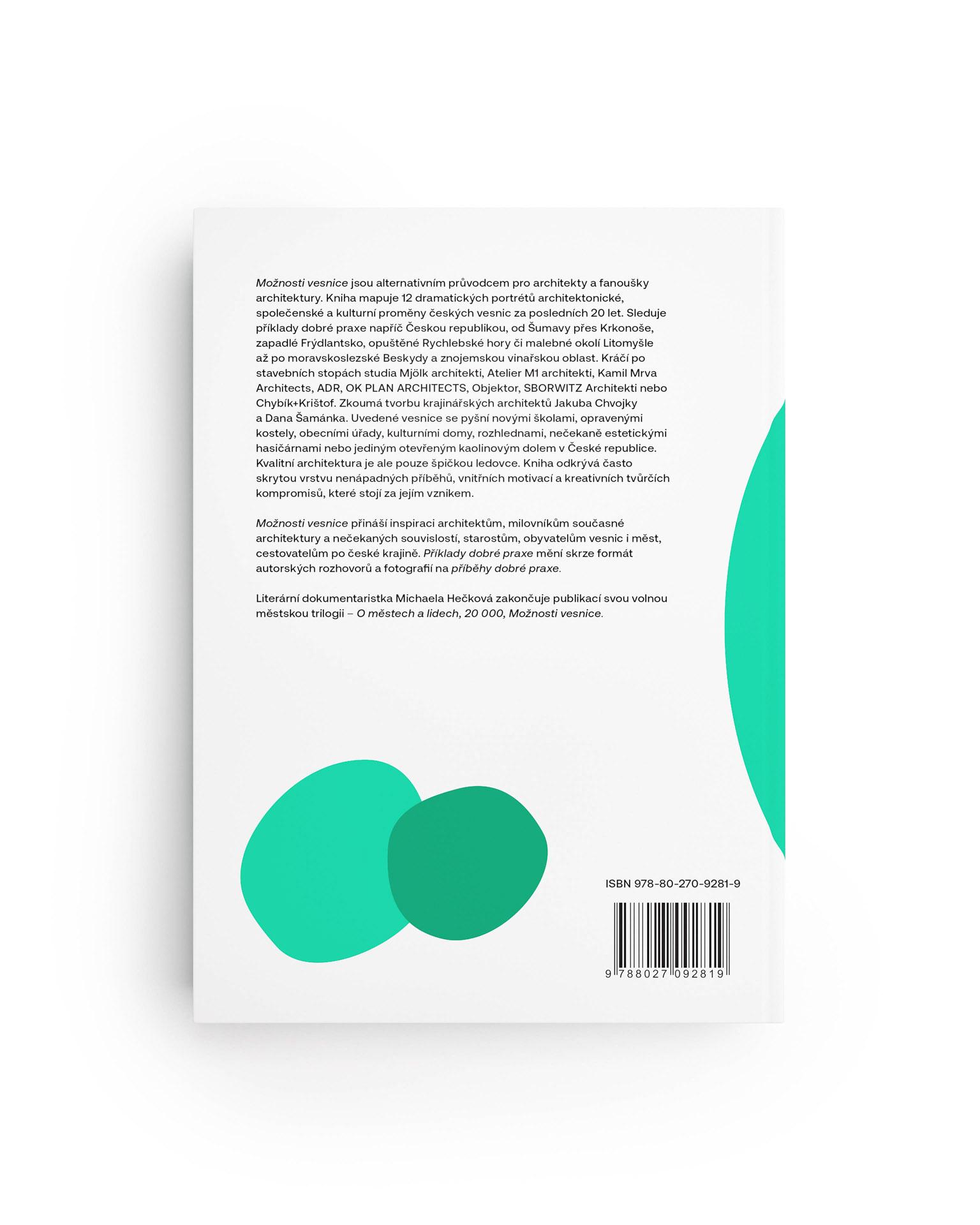 Možnosti vesnice – zadní strana obálky